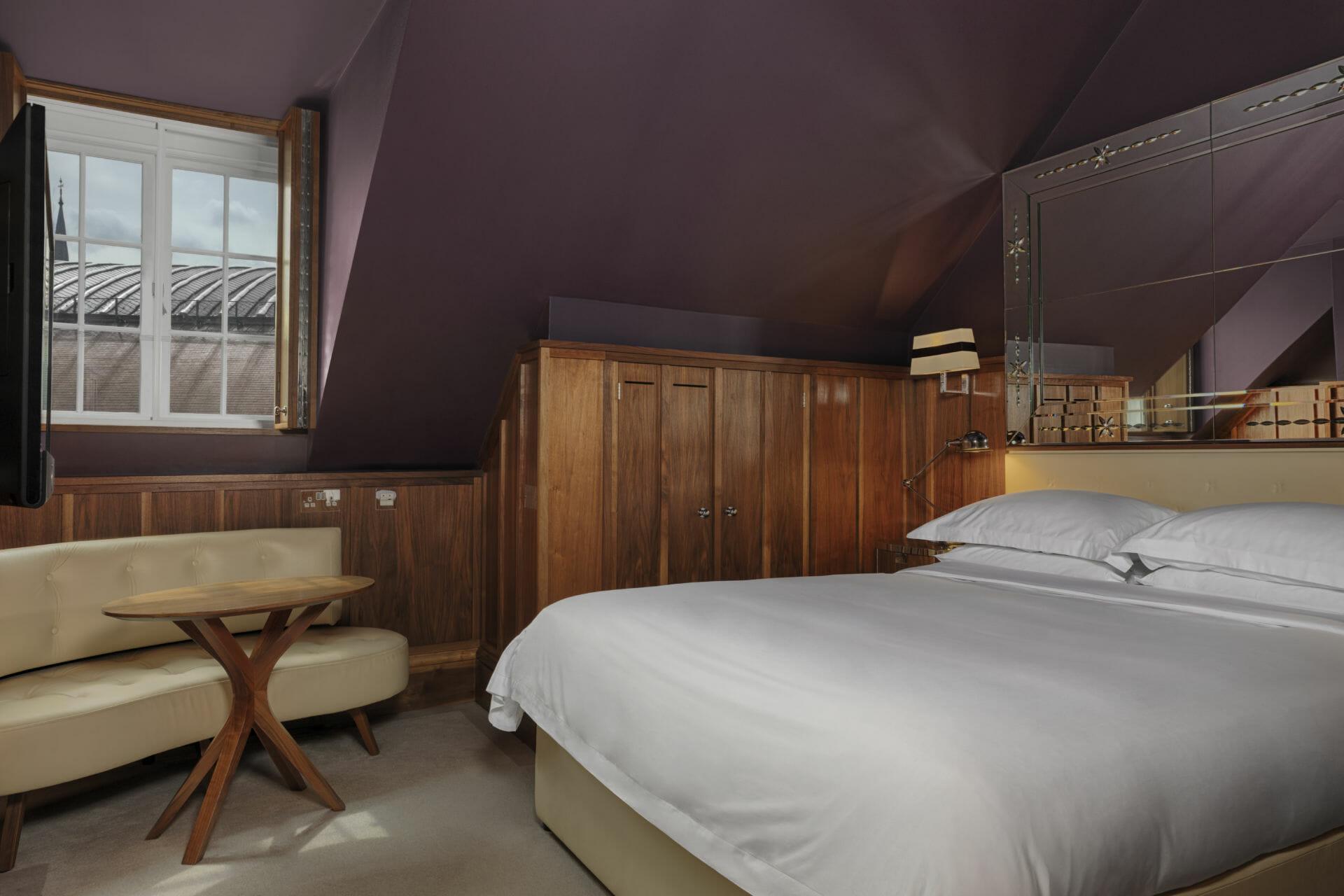 Wainscot Bedroom